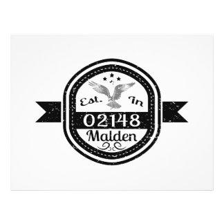 Established In 02148 Malden Flyer