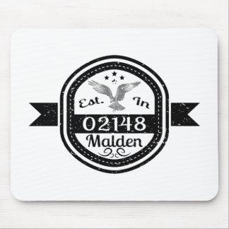 Established In 02148 Malden Mouse Pad