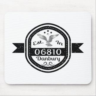 Established In 06810 Danbury Mouse Pad