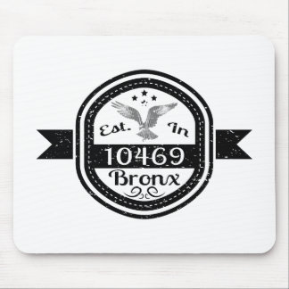 Established In 10469 Bronx Mouse Pad
