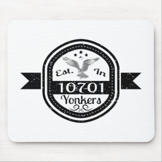 Established In 10701 Yonkers Mouse Pad