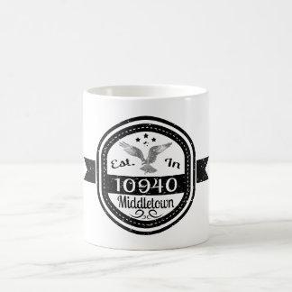 Established In 10940 Middletown Coffee Mug