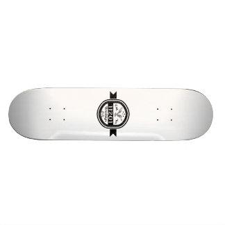 Established In 11201 Brooklyn 18.1 Cm Old School Skateboard Deck