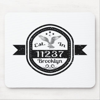 Established In 11237 Brooklyn Mouse Pad