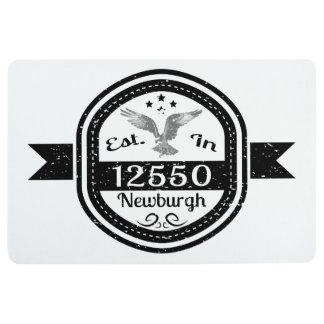 Established In 12550 Newburgh Floor Mat