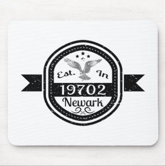 Established In 19702 Newark Mouse Pad