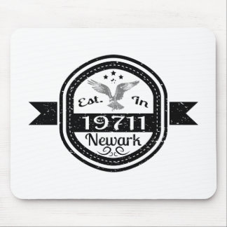 Established In 19711 Newark Mouse Pad