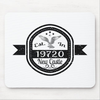 Established In 19720 New Castle Mouse Pad