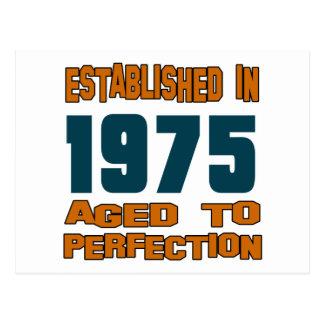 Established In 1975 Postcard