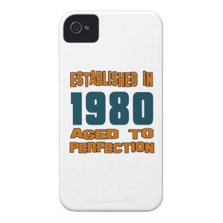 Established In 1980 Case-Mate iPhone 4 Case
