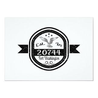 Established In 20744 Fort Washington Card