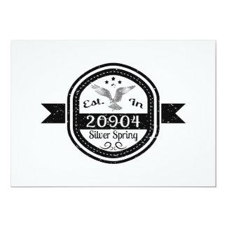 Established In 20904 Silver Spring Card