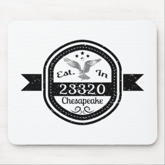 Established In 23320 Chesapeake Mouse Pad