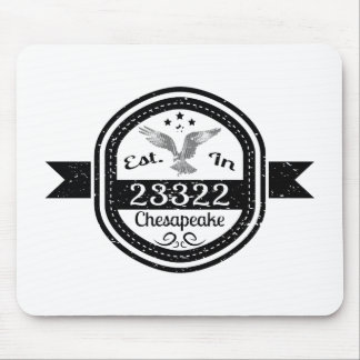 Established In 23322 Chesapeake Mouse Pad