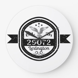 Established In 29072 Lexington Large Clock