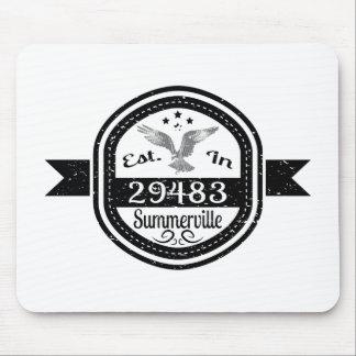 Established In 29483 Summerville Mouse Pad