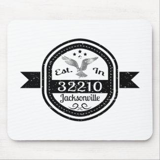 Established In 32210 Jacksonville Mouse Pad