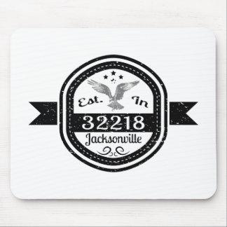 Established In 32218 Jacksonville Mouse Pad