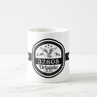 Established In 32808 Orlando Coffee Mug
