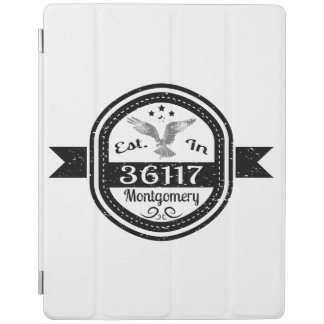 Established In 36117 Montgomery iPad Cover