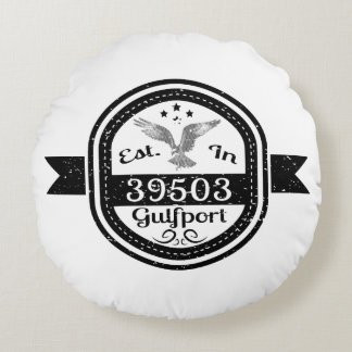 Established In 39503 Gulfport Round Cushion