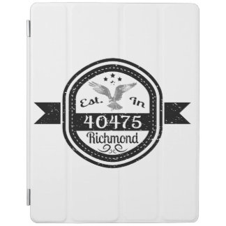 Established In 40475 Richmond iPad Cover
