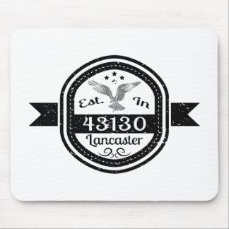 Established In 43130 Lancaster Mouse Pad