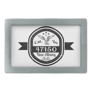 Established In 47150 New Albany Belt Buckles