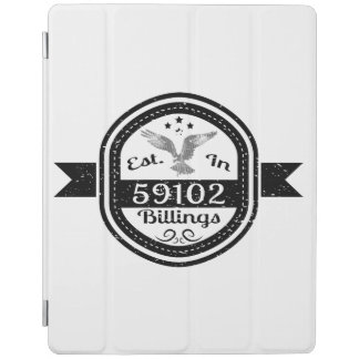 Established In 59102 Billings iPad Cover