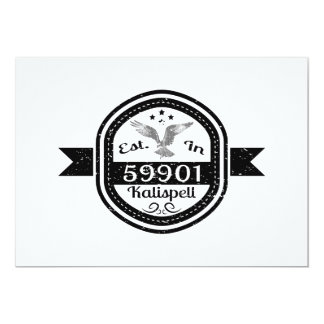Established In 59901 Kalispell Card