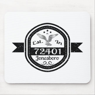 Established In 72401 Jonesboro Mouse Pad