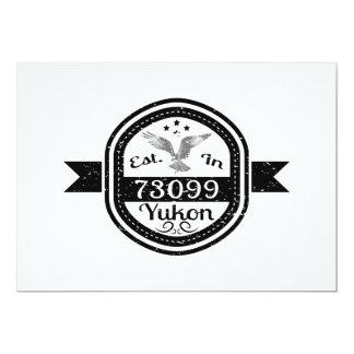 Established In 73099 Yukon Card