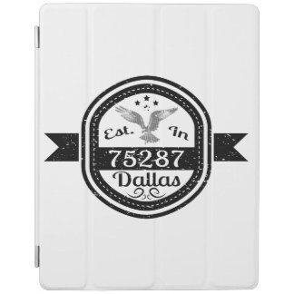 Established In 75287 Dallas iPad Cover