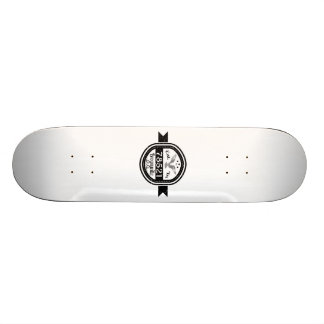 Established In 78521 Brownsville 18.1 Cm Old School Skateboard Deck