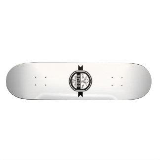 Established In 87120 Albuquerque 21.6 Cm Old School Skateboard Deck