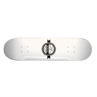 Established In 89147 Las Vegas Skate Deck