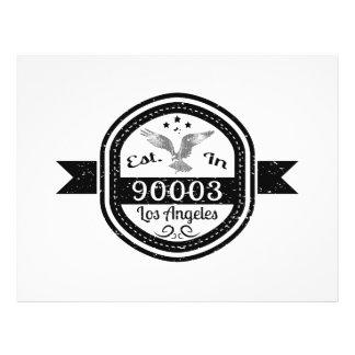 Established In 90003 Los Angeles Flyer