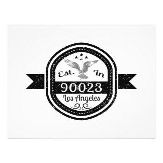 Established In 90023 Los Angeles Flyer