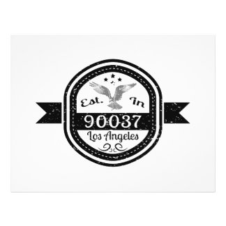 Established In 90037 Los Angeles Flyer