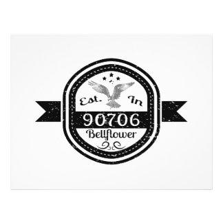 Established In 90706 Bellflower Flyer
