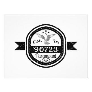 Established In 90723 Paramount Flyer
