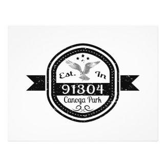 Established In 91304 Canoga Park Flyer
