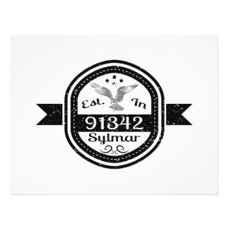 Established In 91342 Sylmar Flyer