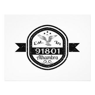 Established In 91801 Alhambra Flyer