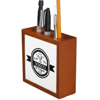 Established In 92021 El Cajon Desk Organiser