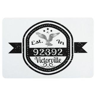 Established In 92392 Victorville Floor Mat