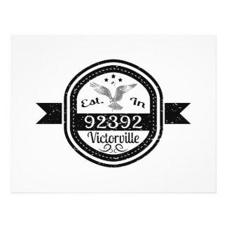 Established In 92392 Victorville Flyer