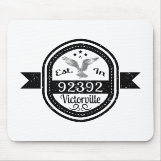 Established In 92392 Victorville Mouse Pad
