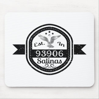 Established In 93906 Salinas Mouse Pad