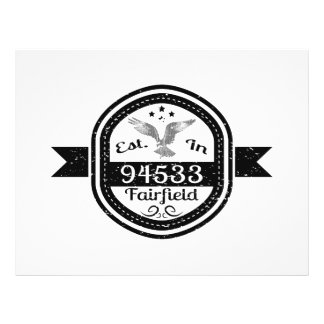 Established In 94533 Fairfield Flyer